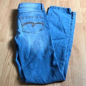 Justice Girls Jeans size 12 super skinny